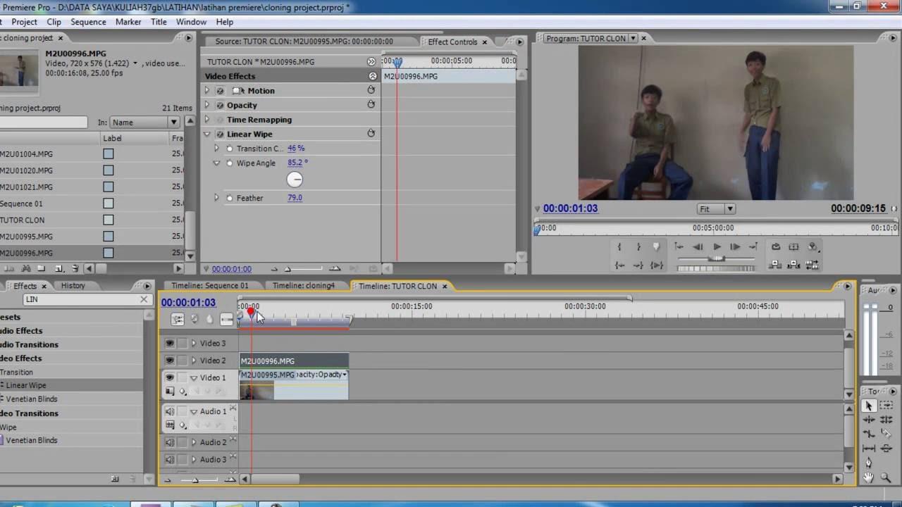 adobe premiere cs3 tutorial