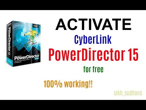 HOW TO ACTIVATE CYBERLINK POWERDIRECTOR 15 || 100% working!!