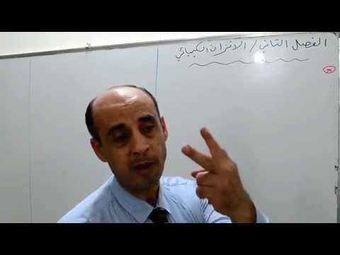 دروس الكيمياء : الفصل الثاني الاتزان الكيميائي ج/1 كيمياء السادس /الاستاذ محمد محروس