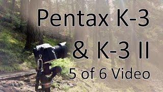 Пентакс к-3 і К-3 II керівництво відео 5: Режим відео