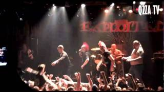 The Exploited - Fuck The USA (Moscow, 04/02/2011)