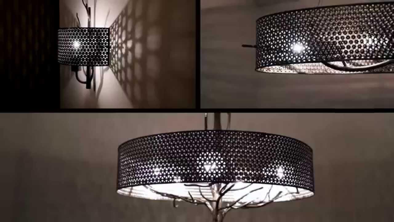 varaluz treefold lighting pendant sconce lights video