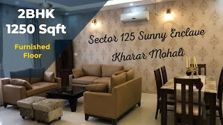 25.90 lac: 2BHK-1250 sqft +furniture & luxury interior | possession ready Sunny Enclave Punjab India