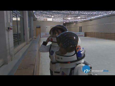 Mostra e laboratori nella piccola citta' della sci...