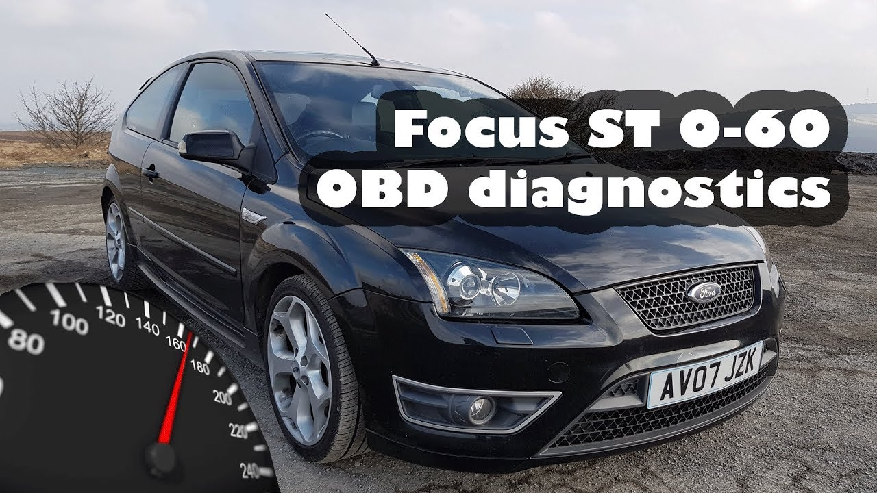 Ford Focus St 0 60 Time Obd Diagnostic Reader Using Elm327 And