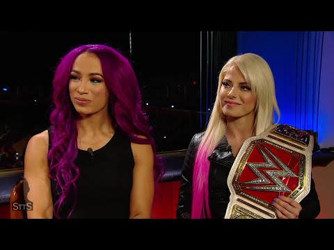 Alexa Bliss and Sasha Banks reflect on making history in Abu Dhabi: WWE Straight to the Source