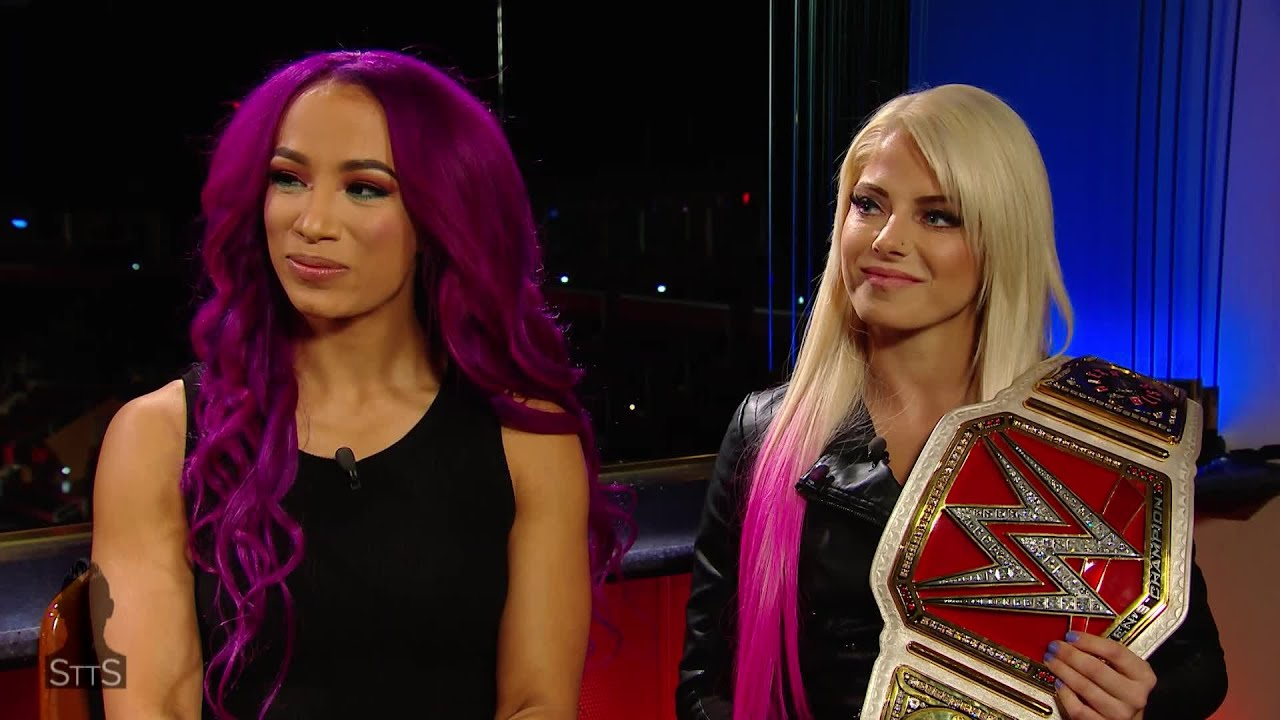 Alexa Bliss and Sasha Banks reflect on making history in Abu Dhabi: WWE Straight to the Source #1