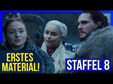 ERSTE SZENE von STAFFEL 8 VERÖFFENTLICHT  ♦ Sansa trifft auf Daenerys ♦ Game of Thrones Staffel 8❄🔥