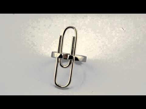 Кольцо Скрепка MARKIN fine jewelry