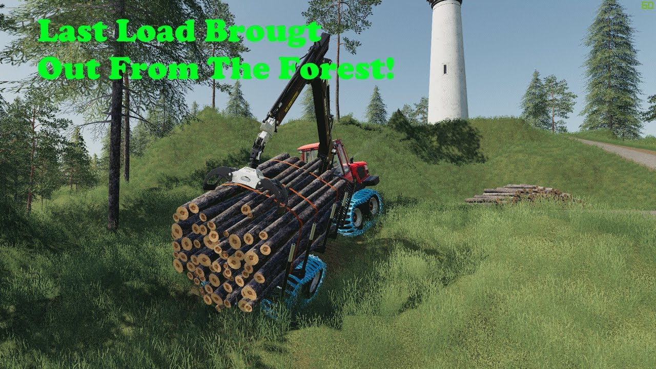 FS19   Logging On Bergholmen   Well This Is The Last Load   Timelapse   S1  EP6