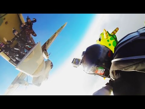 Makgadikgadi Epic - Botswana Skydiving Boogie (LONG Version)