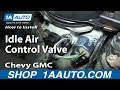 How To Install Replace Idle Air Control Valve 5.7L 1995-99 Chevy GMC C1500 K1500 Tahoe