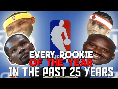 Can You Name EVERY Rookie of the Year in the Past 25 YEARS?