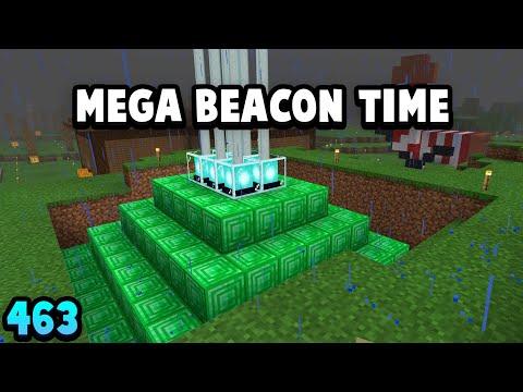 I Made A MEGA BEACON In Survival #463