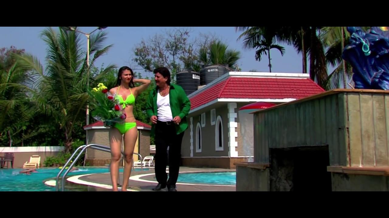 Jasleen Matharu Hot Bikini Scene From The Movie Dirty Boss -9293