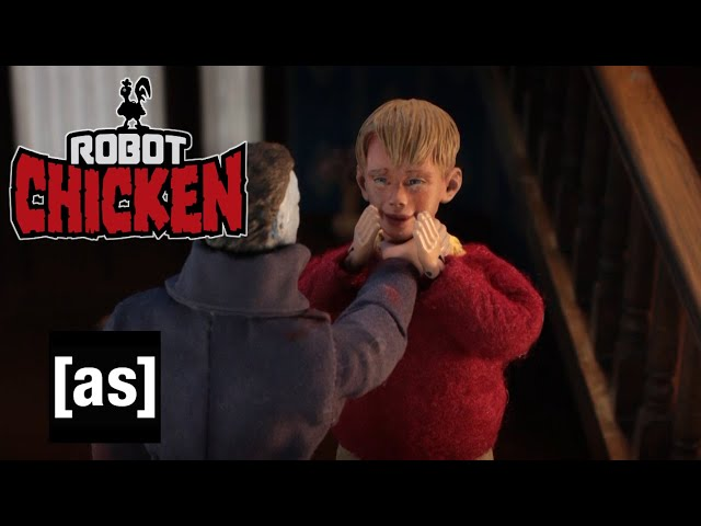Home Alone with Michael Myers | Robot Chicken | adult swim