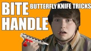 Butterfly Knife Tricks for Beginners #10 (Wrist Pass)