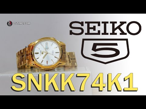 SEIKO 5 Series SNKK74K1 | Elegant - Dress Watch Under 150