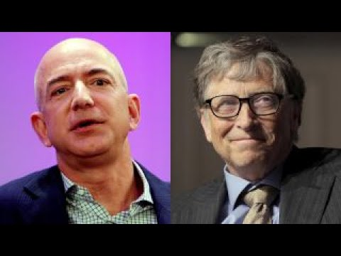 Amazon's Jeff Bezos nears Gates as richest man