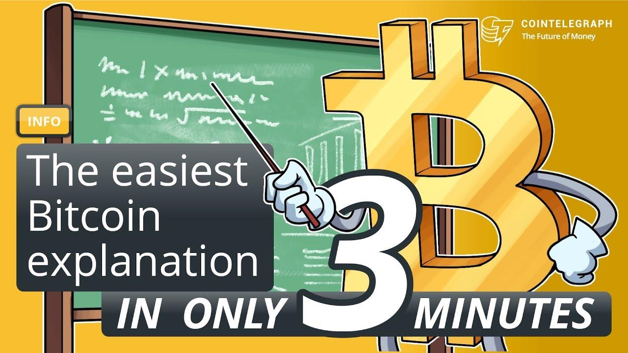 explanation on bitcoin