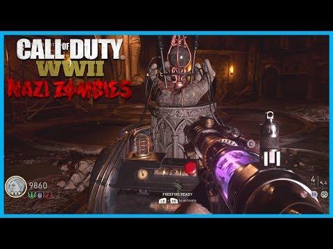 "Call of Duty: World War II Zombies ""The Final Reich""! - Tesla Gun Wonder Weapon! (WW2 Nazi Zombies)"