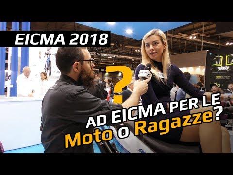 Ad EICMA per le moto...o per le ragazze? La risposta Definitiva! - EICMA 2018