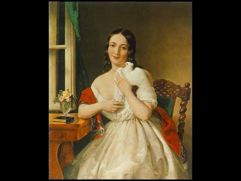 BARABÁS MIKLÓS (1810 -1898) Hungarian painter ✽ Liszt Ferenc - Liebestraume