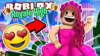 MEETING MY FUTURE PRINCESS GIRLFRIEND! - Roblox Royale High Roleplay