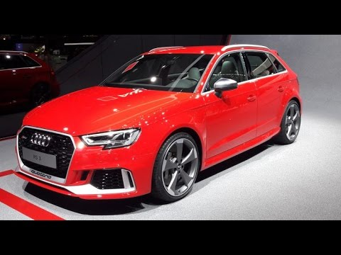 audi q8 rs5 et rs3 salon de geneve 2017 youtube. Black Bedroom Furniture Sets. Home Design Ideas