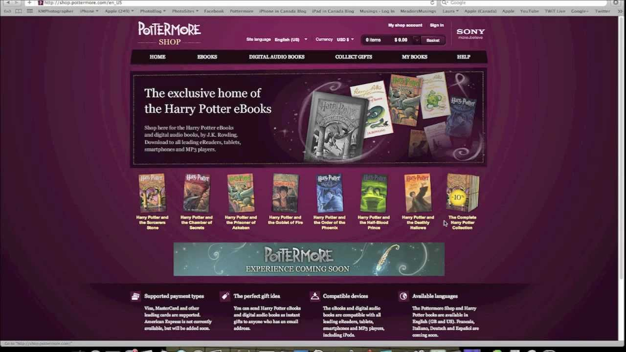HARRY POTTER EBOOK FOR IPHONE EPUB DOWNLOAD