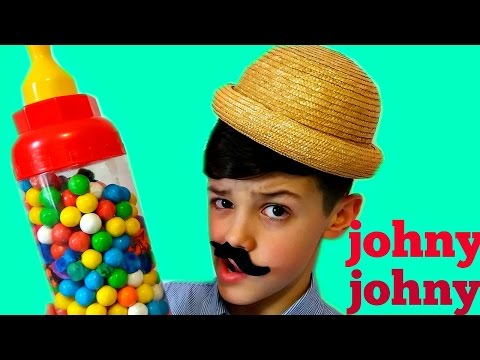 Thumbnail: JOHNY JOHNY Yes Papa Song - Simple Songs For Children LEARN COLORS Gumballs