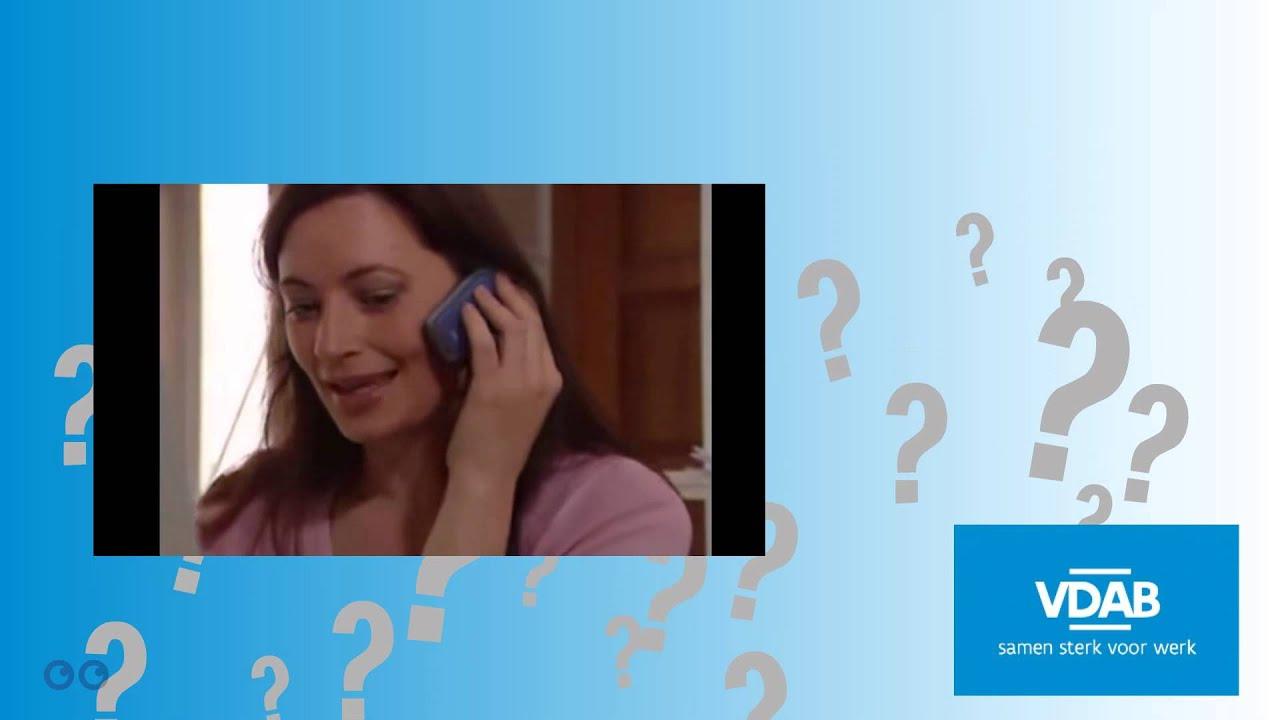 telefoongesprek sollicitatie Solliciteren: Een goed telefoongesprek   YouTube telefoongesprek sollicitatie
