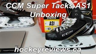 CCM Super Tacks AS1 Skate Unboxing