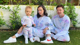 TIE DYING MATCHING OUTFITS FOR MY FAMILY!