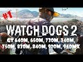 Watch Dogs 2 on GeForce GT 750m (4Gb) #750mSUX