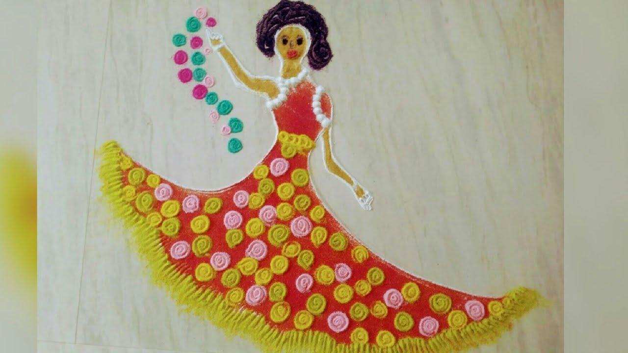 2018 Latest Women S Day Rangoli Design Women S Day Kolam Design Womens S Day Muggulu Design Youtube दिवाली पर अपने घर धन, समृद्धि की देवी मां लक्ष्मी को आकर्षित करने के तो इन वीडियो को देखकर सीखिए unique, आसान और कमाल की रंगोली डिजाइन, जो आपके घर को लगा देगी चार चांद! 2018 latest women s day rangoli design women s day kolam design womens s day muggulu design