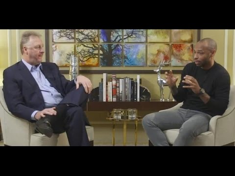 Larry Bird and Thierry Henry | Interview