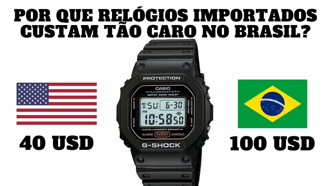c031b154ea2 Por Que Relógios Importados Custam Tão Caro no Brasil  - YouTube