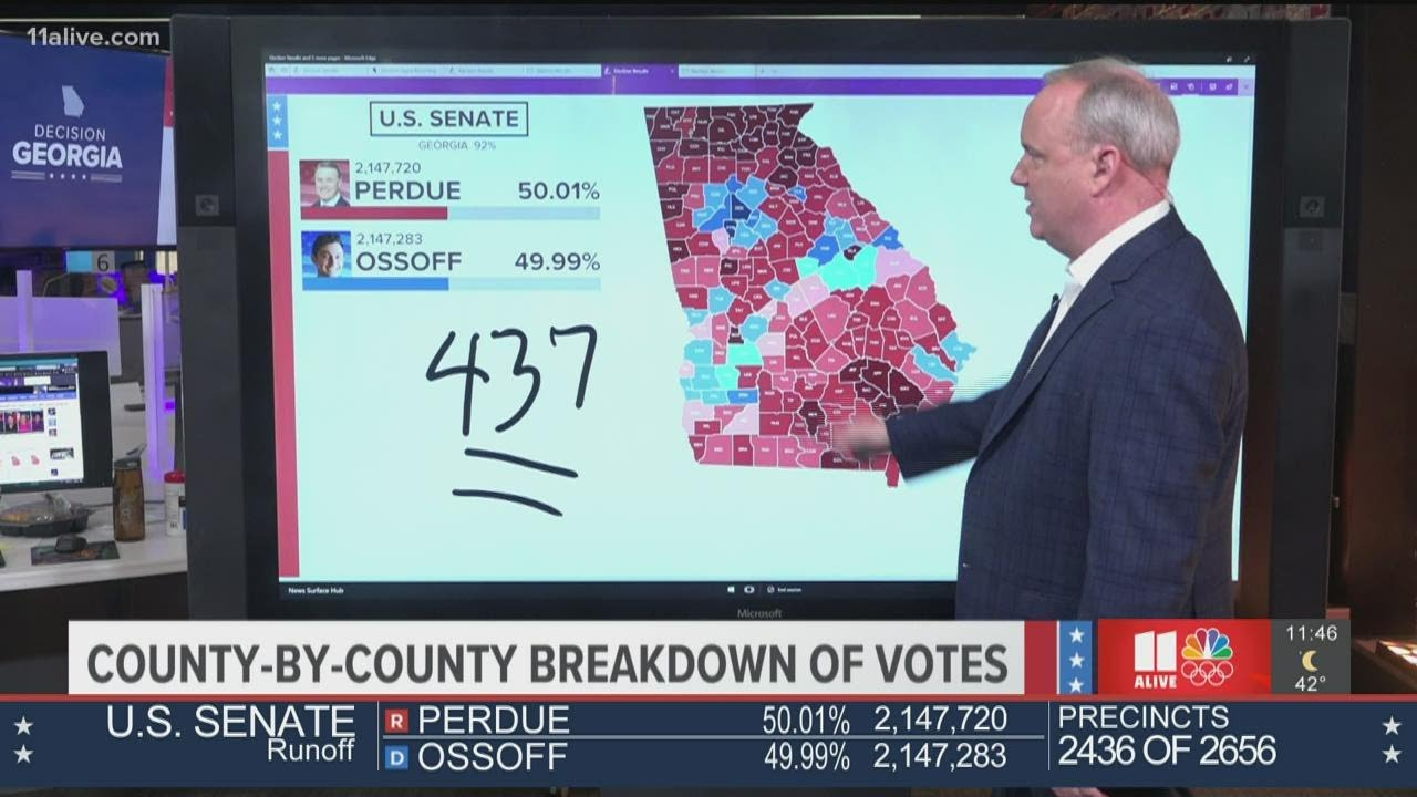 Latest look at Senate runoff election results