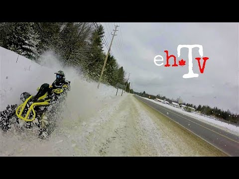 Winter Ditch Diving On The Renegade