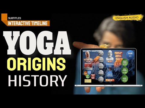 Origin and History of Yoga, An Interactive timeline presentation.