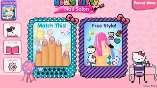 Hello Kitty Nail Salon Хеллоу Китти Маникюрный салон Творческая игра для детей