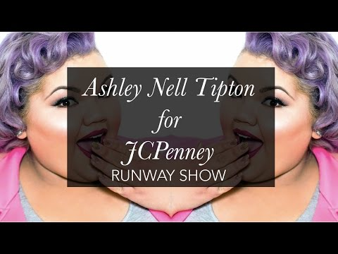 Plus Size Fashion Show: Ashley Nell Tipton for JCPenney. http://bit.ly/2Whvfg9