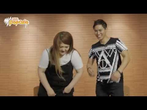 Lee Guk Joo learns some iconic Australian dance moves