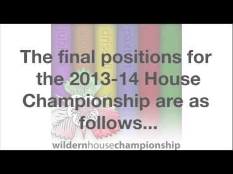 Final Wildern House Championship Video 2014