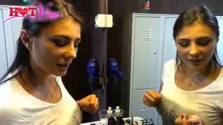 Sofia Cucci Backstage Film Hard - In USA sono più Duri