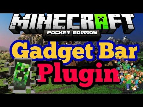 PocketMine Plugin   Gadget Bar   1.2.13