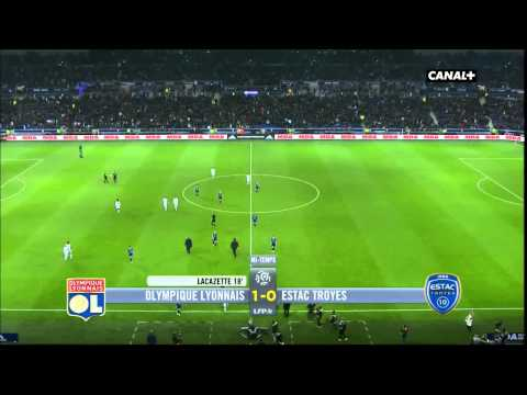 Lyon 4-1 Troyes 09/01/2016 Match Complet