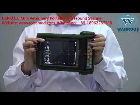 USRKU10 Portable Veterinary Ultrasound Scanner,Veterinary Ultrasound Machine