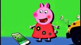 Мультики Свинка  Петта нашла телефон Пеппа нашла Айфон  Мультфильмы для детей на русском